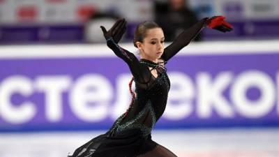 Валиева выиграла короткую программу на Кубке Первого канала