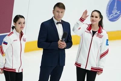 Команда Загитовой стала лидером после короткой программы на Кубке Первого канала