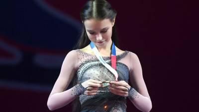 Появилось видео захватывающего проката Щербаковой на Кубке Первого канала