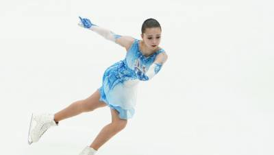 Валиева побила мировой рекорд в произвольной программе на Кубке Первого канала