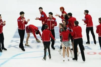Команда Загитовой победила на Кубке Первого канала