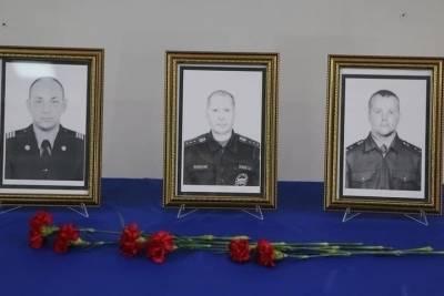 Стала известна дата похорон погибших в Красноярске пожарных