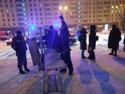 В Екатеринбурге два человека пострадали при пожаре в 23-этажной высотке