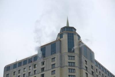 В пожаре в здании в центре Екатеринбурга пострадали три человека, все они в реанимации