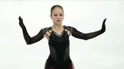 Трусова поделилась эмоциями от участия на Кубке Первого канала