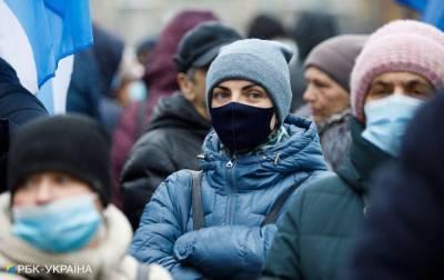 """COVID в Украине: уже три области """"красные"""", еще девять - в зоне риске"""