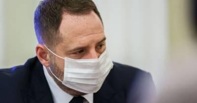 """""""Очень мощный шаг"""": Ермак заявил, что план мира на Донбассе лежит на столе и ждет реакции РФ"""