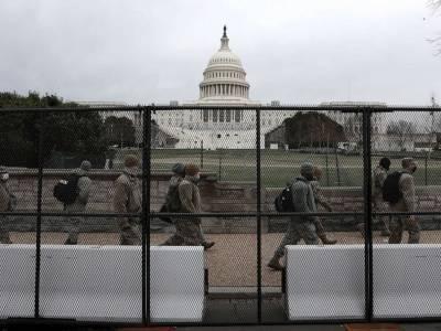 Пентагон продлил военное присутствие в Вашингтоне из-за угрозы новых протестов сторонников Трампа