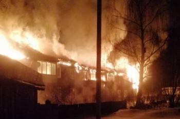 Стали известны подробности жуткого пожара в поселке Суда