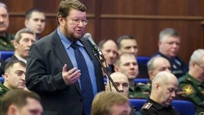 Сатановский предложил свои методы борьбы с информационным диктатом США