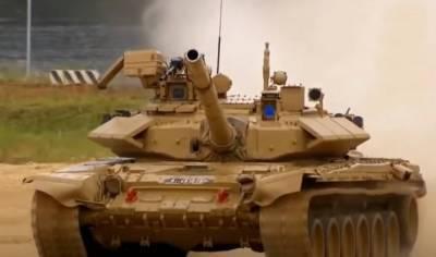 Китайская имитация танка Т-90 VISMOD отразила атаку ударного вертолета?