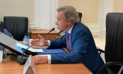 Пушков назвал условие для масштабного конфликта в Донбассе