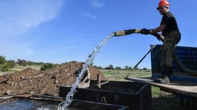 В парламенте Крыма назвали ответственных за водную блокаду полуострова