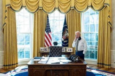 Байден впервые устроил телефонный обзвон мировых лидеров с посланием «Америка вернулась»