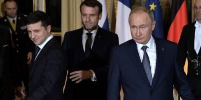 За закрытыми дверями: в Киеве просят Зеленского не встречаться с Владимиром Путиным