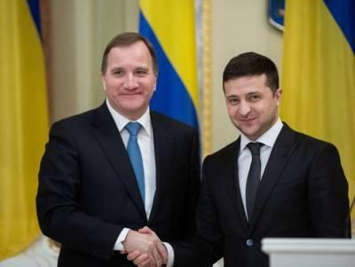 Зеленский предложил премьер-министру Швеции присоединится к «Крымской платформе»