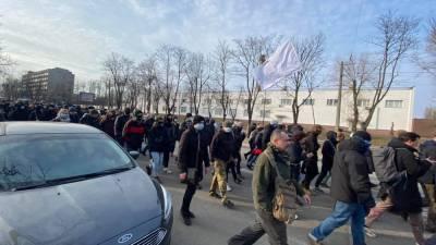 Вышли почти 500 активистов: как проходил митинг в поддержку Антоненко