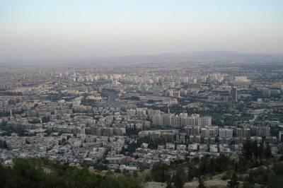 ПВО Сирии отразили атаку со стороны Израиля в окрестностях Дамаска