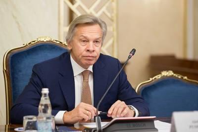 Пушков назвал Зеленского «фейковым» президентом