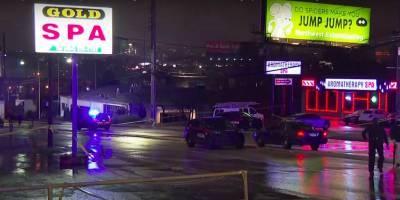 В Атланте, США, мужчина расстрелял людей в массажном и спа салонах, четверо убитых - азиаты, фото и видео - ТЕЛЕГРАФ