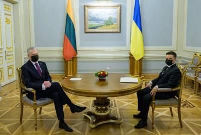 Нормандская четверка, вступление в ЕС и Донбасс. О чем Зеленский говорил после встречи с президентом Литвы