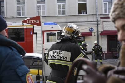 Девять человек эвакуировали из-за задымления в детском саду на юге Москвы