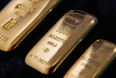 Цены на золото снизились на фоне роста американских акций и обвала лиры