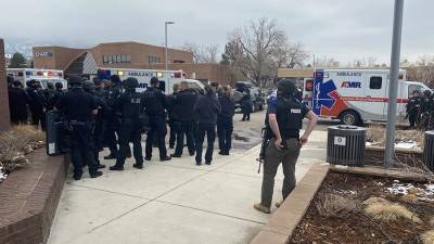 Стрельба произошла в супермаркете в Колорадо