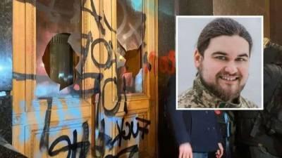 Меру пресечения задержанному во время акции у Офиса Президента избрал суд