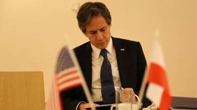 """Блинкен выразил Германии возражения США из-за строительства """"Северного потока — 2"""""""