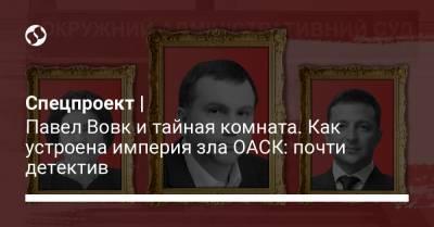 Спецпроект   Павел Вовк и тайная комната. Как устроена империя зла ОАСК: почти детектив