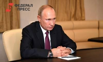 В Кремле сообщили, как себя чувствует Путин после прививки