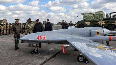 ВСУ применили на учениях турецкие беспилотники над Чёрным морем