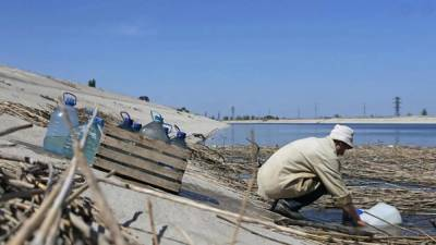 Оккупанты подадут иск против 3 украинцев из-за водной блокады Крыма