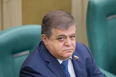 Джабаров раскритиковал заявление вице-премьера Украины о выдворении россиян из Крыма
