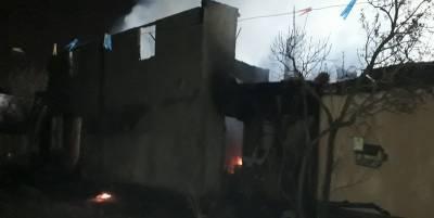 В Коцюбинским под Киевом разгорелся пожар в доме на четыре хозяина – видео - ТЕЛЕГРАФ