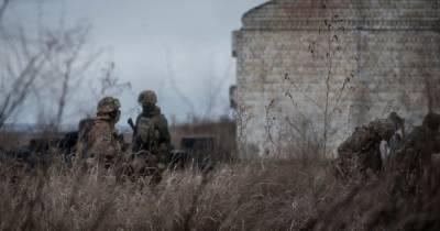 В течение суток боевики десять раз нарушили режим прекращения огня — ООС