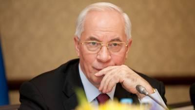 Николай Азаров оценил рейтинг доверия украинцев к Зеленскому
