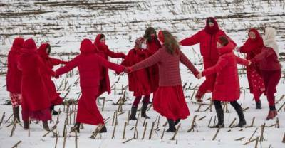 PHOTOS: Belarusian Women Say Goodbye To Winter In Spring Welcoming Celebration