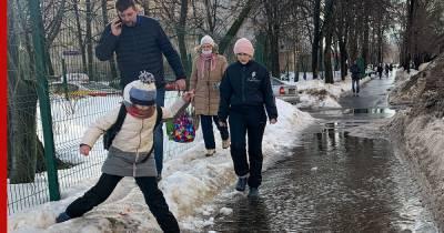 В Москве 3 марта ожидаются небольшие осадки и гололедица