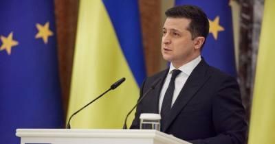 """Зеленский назвал строительство """"СП-2"""" четвертым мощным ударом по Украине"""