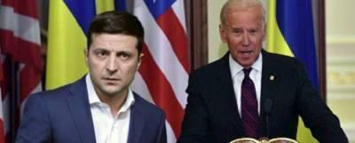 Зеленский пригласил Джо Байдена на празднование 30-летия независимости Украины