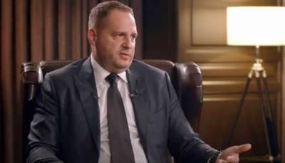 """И.о. главы ГБР заявил о допросе Ермака по делу """"вагнеровцев"""""""