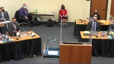 В США начался суд над полицейским, которого обвиняют в смерти темнокожего Джорджа Флойда