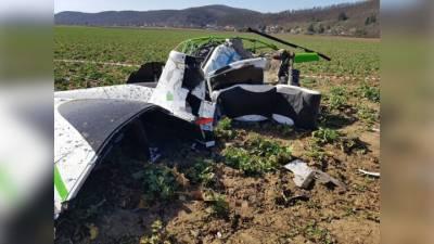 Два человека погибли при крушении гражданского вертолета в Чехии