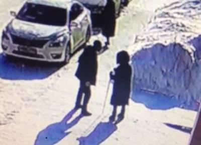 За то, что медленно шла: пьяный неадекват в Сибири избил на улице незнакомую старушку