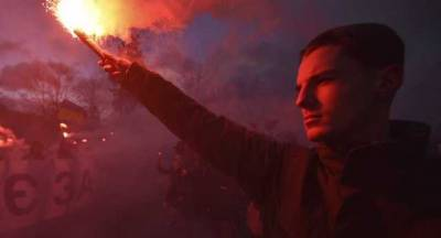 Сторонники Стерненко завершили митинговать у госдачи Зеленского и собираются прийти на Съезд судей