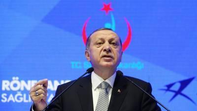 Эрдоган заявил, что Турция выступает за снижение напряженности на востоке Украины