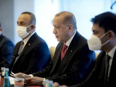 Эрдоган на встрече с Зеленским подтвердил поддержку территориальной целостности Украины и непризнание аннексии Крыма