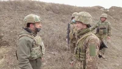 Владимир Зеленский съездил в Донбасс после телефонного звонка от Джо Байдена